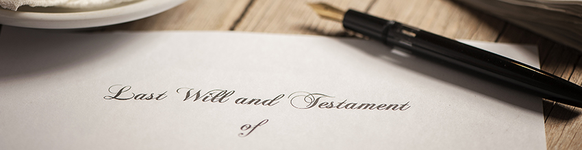 Wills, Probate & Taxation